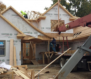 Custom Home Building Harrison Township MI | Galaxy Contracting - home-construction